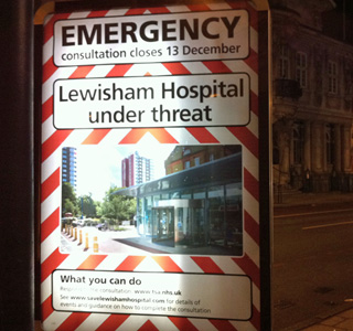 Lewisham Council ad