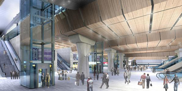 London Bridge station, in the future