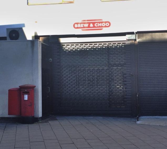 Brew & Choo cafe - closed in June 2014