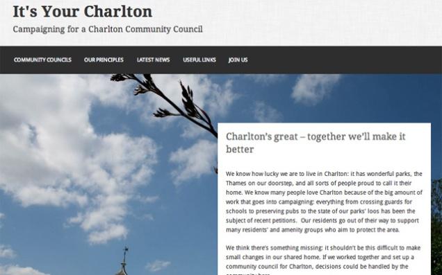It's Your Charlton website