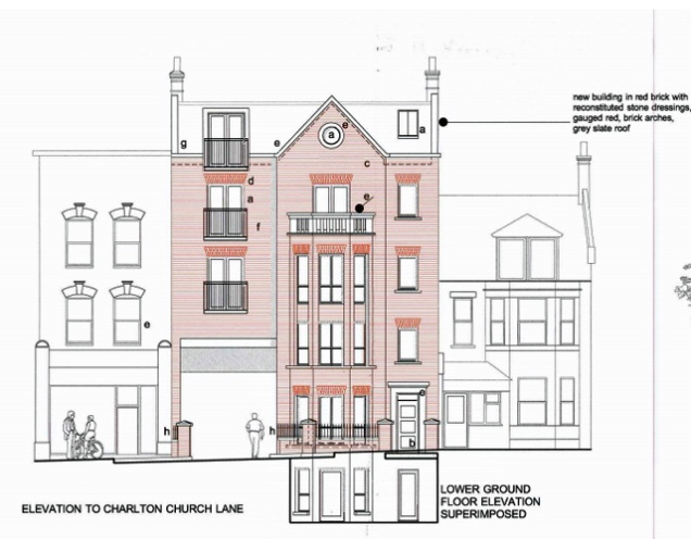 Charlton Church Lane planning application