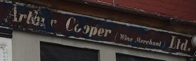 Arthur Cooper wine merchant