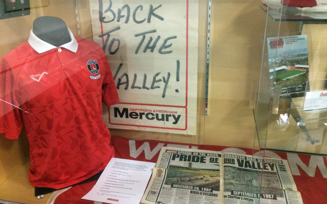 Charlton Athletic museum
