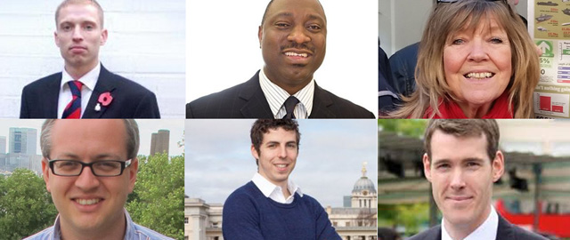 Greenwich and Woolwich candidates