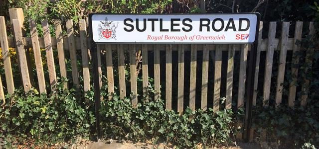 Sutlej Road, Charlton, 14 April 2015