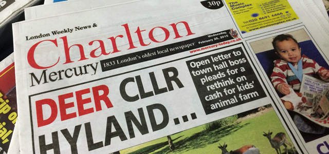 The Charlton Mercury: Closed after just 19 months