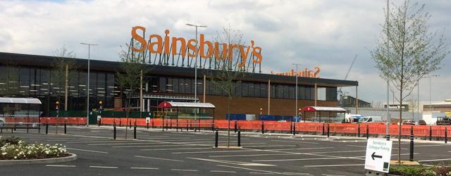 Charlton Sainsbury's, 16 June 2014