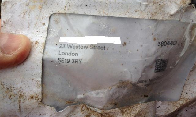 Dumped letter