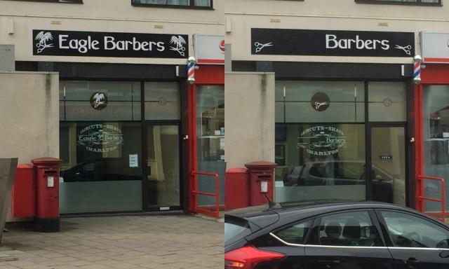 The new Charlton barbershop - Monday and Saturday