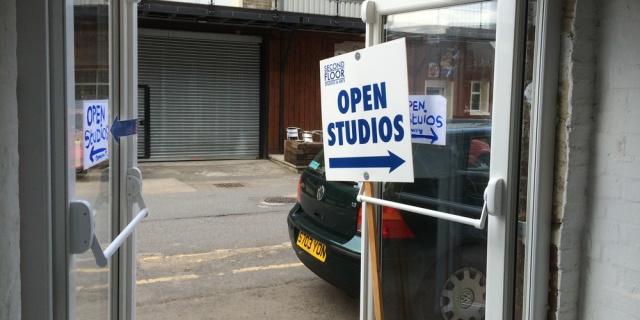 Second Floor Arts open studios