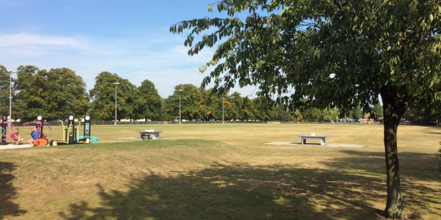 Charlton skate park site