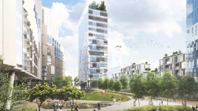 Rockwell's plans include a 28-storey tower close to Charlton station