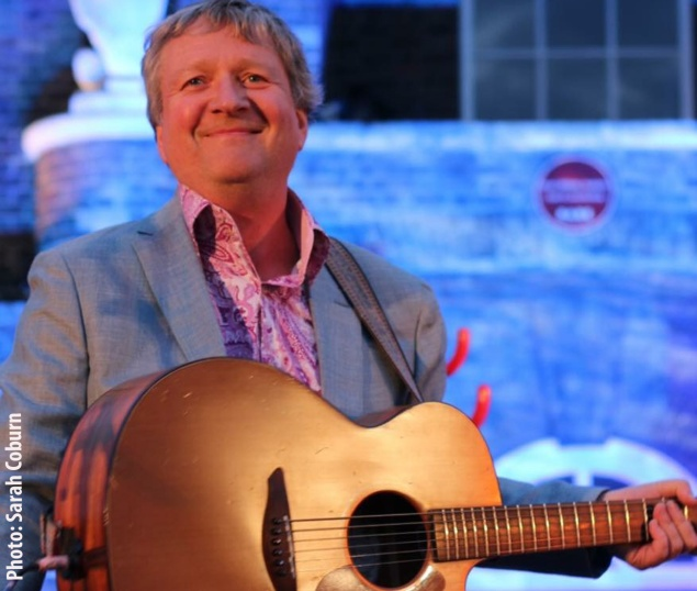 Glenn Tilbrook at the Tall Ships Festival - photo Sarah Coburn
