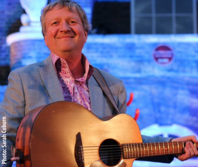 Glenn Tilbrook at the Tall Ships Festival - photo Sarah Coburn
