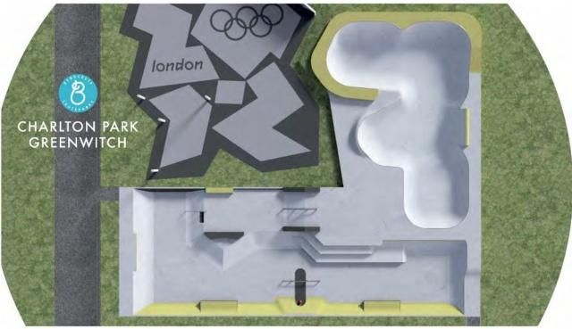 Charlton skate park