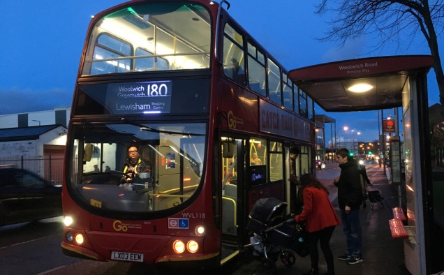 Route 180 bus
