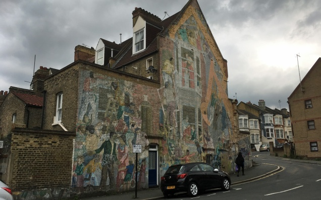 Floyd Road mural