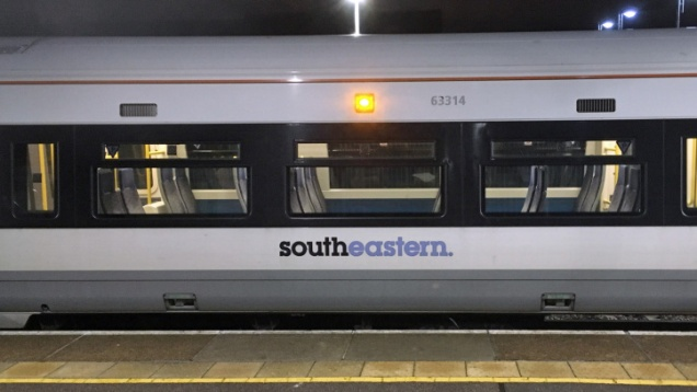 Southeastern train at Charlton