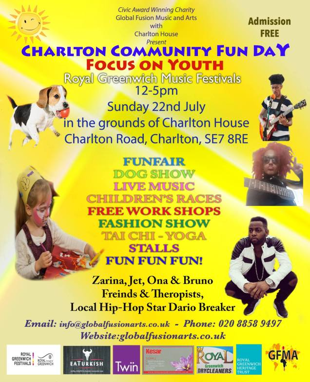 Charlton Park Community Fun Day July 2018
