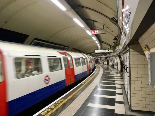 Waterloo Bakerloo line platforms