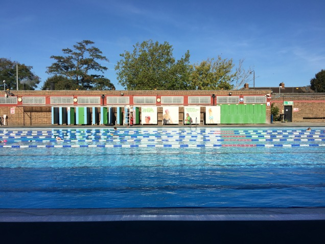 Charlton lido outdoor pool