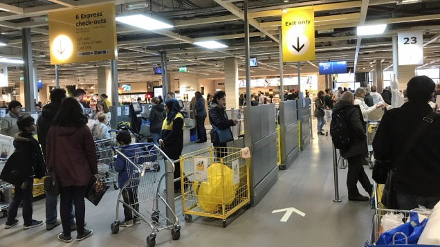 Ikea Croydon checkout