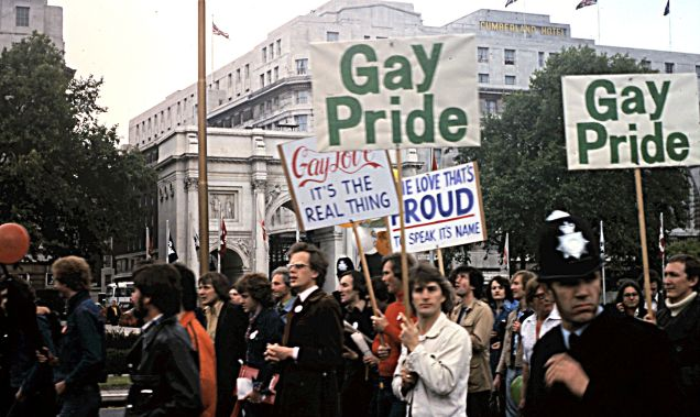 Bishopsgate Institute Gay Pride March photo